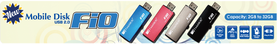 TwinMOS launched Premium Quality Mobile Disk- FiO