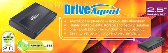 TwinMOS unveils aesthetically pleasing & high capacity portable data storage with the backup solution – DriveAgent