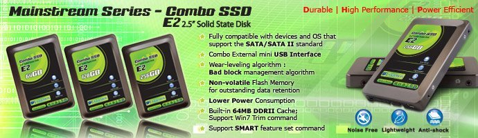 """TwinMOS reveals its next level 2.5"""" Combo SSD E2 with more fast as the perfect solution for mobile and home use!"""